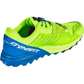 Dynafit Alpine Pro Schoenen Heren, fluo yellow/mykonos blue